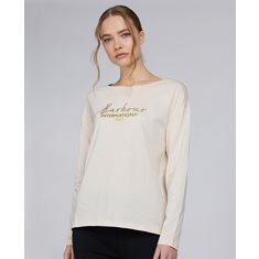 Tee Intl. Picard L/S Champagne