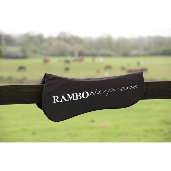 Sadelpadd Rambo Half black