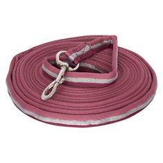 Longerlina soft nylon Rose/bordeaux/silver