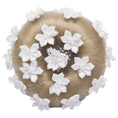Hårnät Flower White