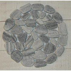 Underlägg marmor  20cm grå
