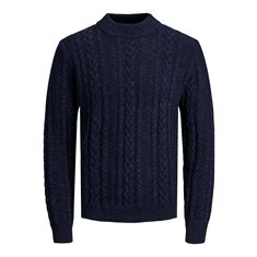 Tröja Albert knit Navy blazer