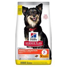 Hill`s hund Adult Perfect Digestion small/mini kyckling