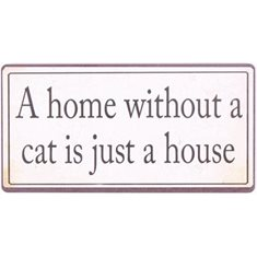 Magnet a home without a cat..