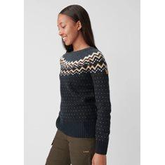 Tröja Övik knit W Dk Navy