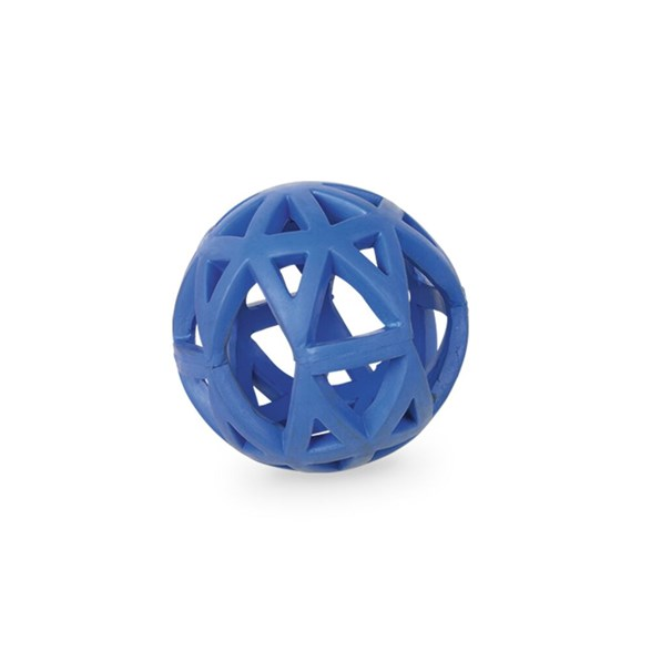Hundleksak gummi gallerboll 9 cm