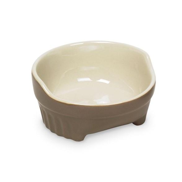 Matskål Style 11,5x4,5 cm taupe/beige