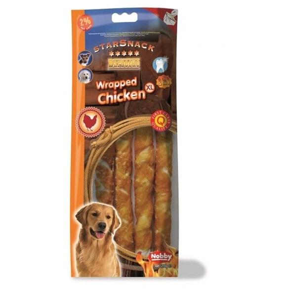 Hundgodis SS Chicken wrapped XL