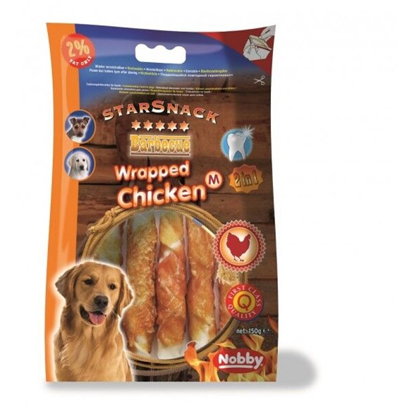Hundgodis SS Chicken wrapped M