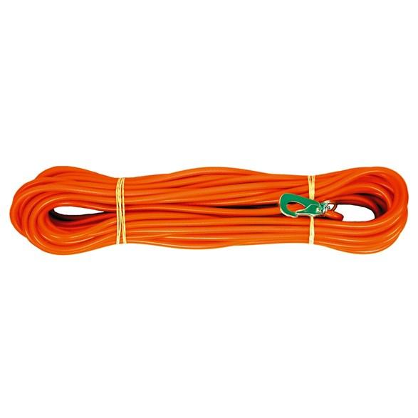 Spårlina orange 6 mm 15 m