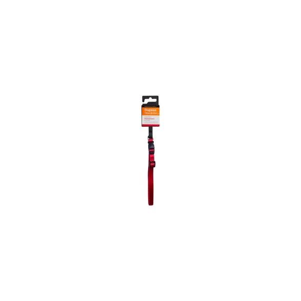 Halsband valp röd 22-35cm