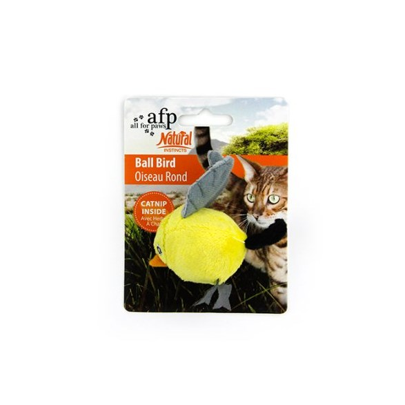 Kattleksak Natural fågelboll