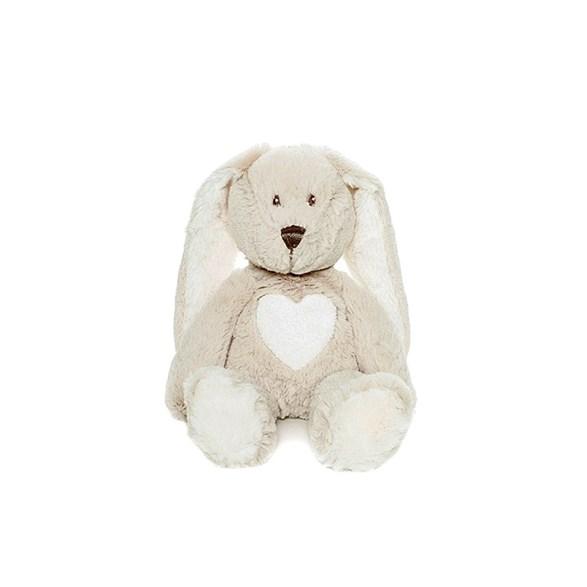 Teddy Cream kanin mini grå