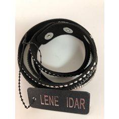 Armband vit, svart