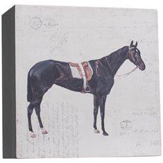 Träbox Horse