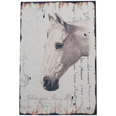 Plåtskylt Horse