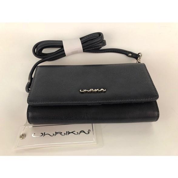Plånbok/väska m mobilfack blå