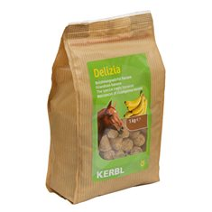 Hästgodis Delizia banan 1 kg