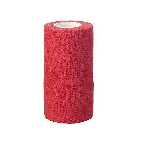 Bandage självhäftande 10 cm röd
