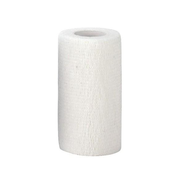 Bandage självhäftande 10 cm vitt