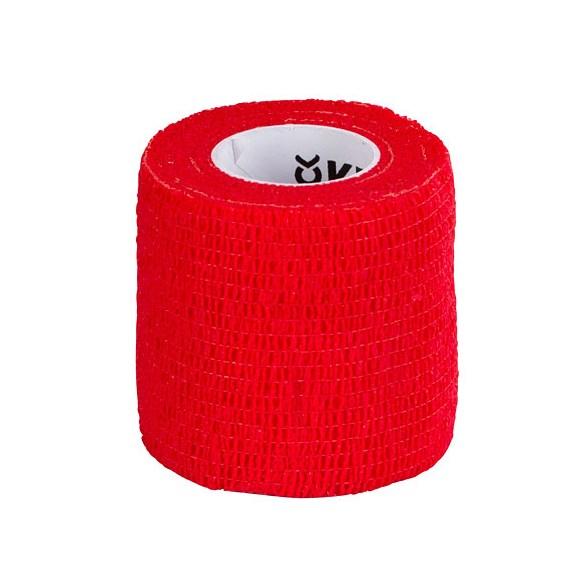 Bandage EquiLastic Självhäftande Röd