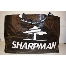 Höpåse stor svart Sharpman