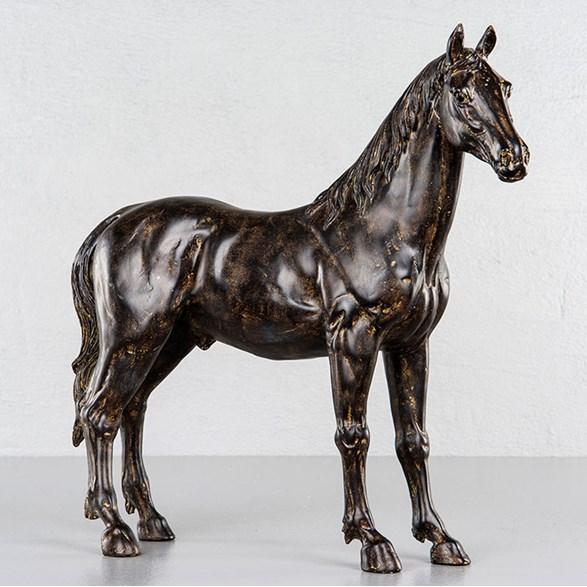 Häst svart/brun
