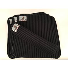 Bandageunderlägg 4p 45x45cm black