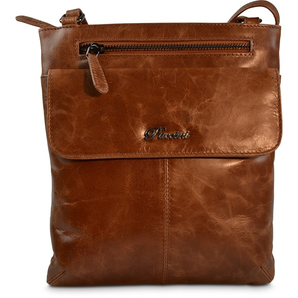 Väska Lady crossb Pucc Cognac