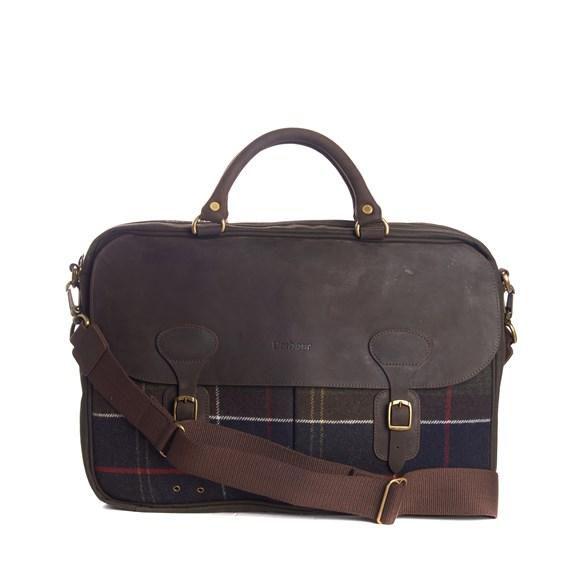 Väska Tartan & Wax Briefcase classic