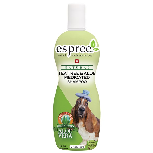 Schampoo Espree Tea Tree Aloe Medicated