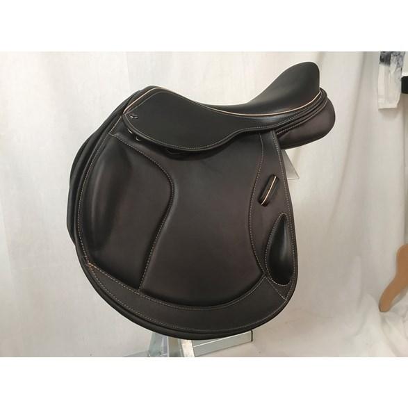 Sadel Integra style Twinflap 17 M brun