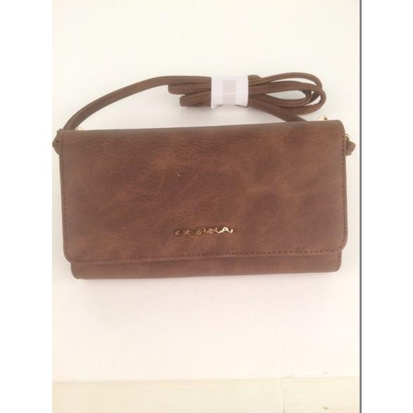 Plånbok/väska m mobilfack br