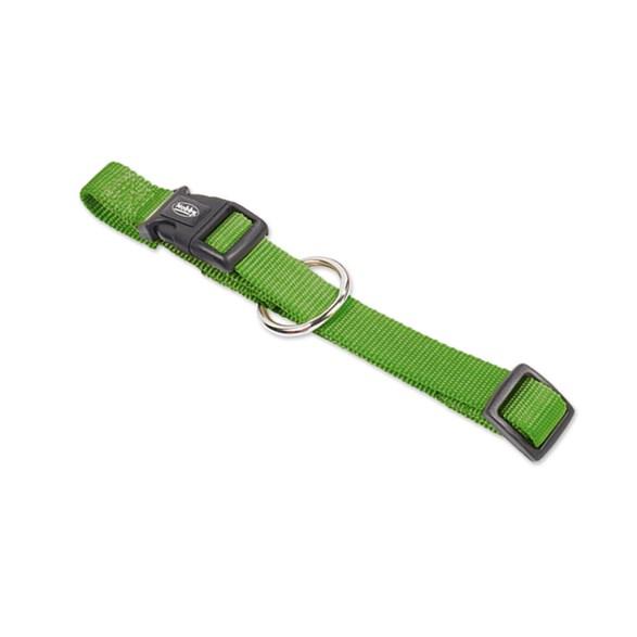 Halsband Nylon-Classic 13-20 cm grön