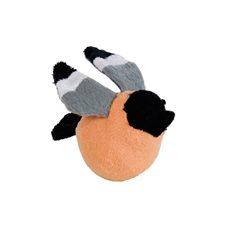 Kattleksak Fågel/boll 8cm orange