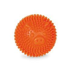 Hundleksak gummi Noppboll 8 orange