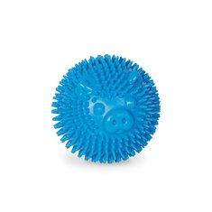 Hundleksak gummi Noppboll 6,5 blå