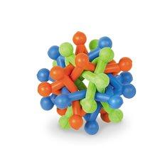 Hundleksak gummi knutstjärna 9,5 cm