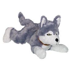 Hundleksak liggande husky 35cm