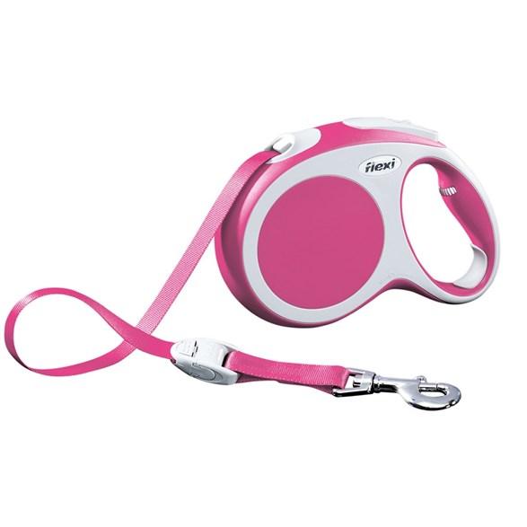 Koppel Flexi Vario L tape 5m rosa