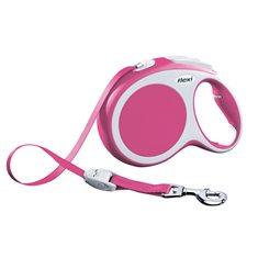 Koppel Flexi Vario L tape 8m rosa