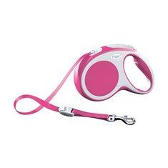Koppel Flexi Vario M tape 5m rosa