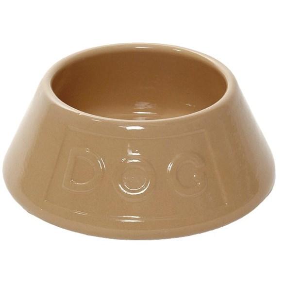 """Matskål """"Spaniel"""" keramik"""