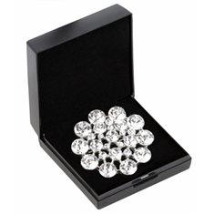 Plastrongnål Flower crystal