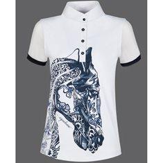 Tävlingsskjorta Agate  vit