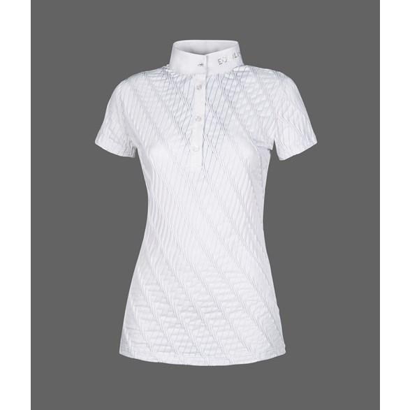 Tävlingsskjorta Mauve  vit