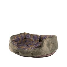 Quilted Dog Bed Olive 30""