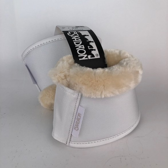 Boots Fauxfur  Vit