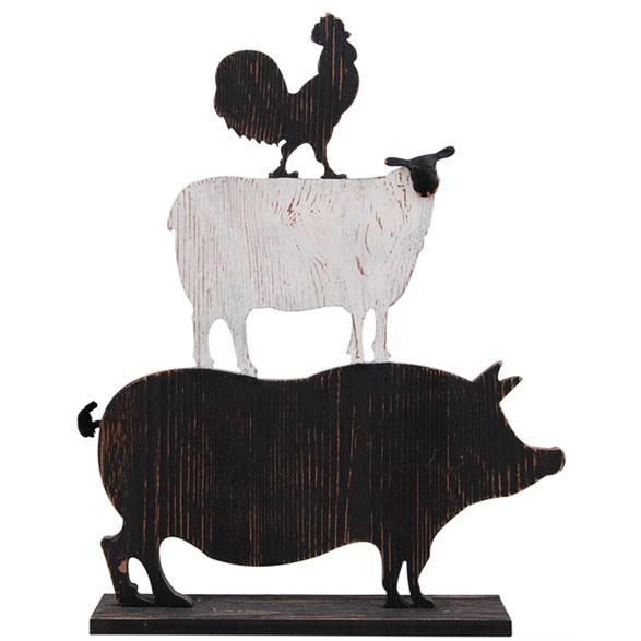 Staty Farm animals pyramid