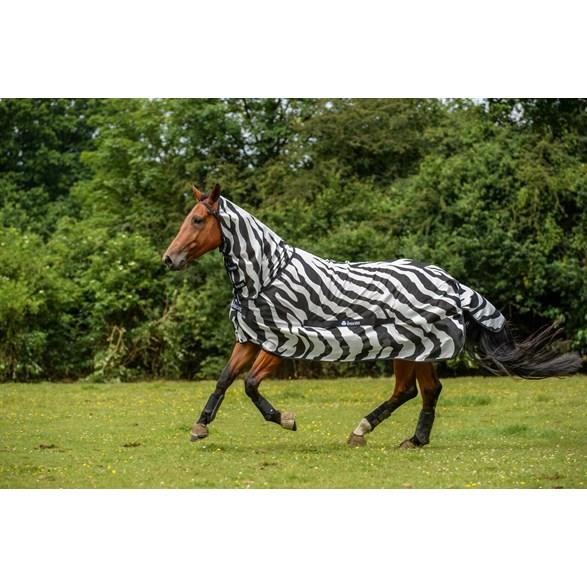 Buzz-off Full Neck  zebra